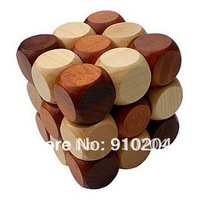 Wooden Puzzle, educational toy,wooden snake cube puzzle,Blocks  BB021