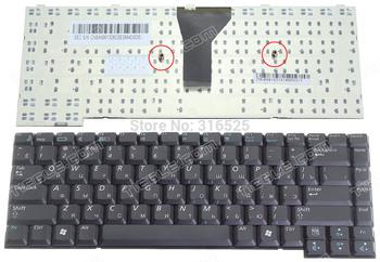 Original  New  Russian RU Keyboard  For SAMSUNG P28 P29  Black  Layout Notebook