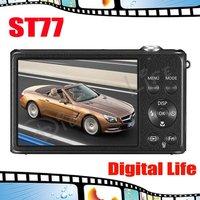 ST77 Original Samsung ST77 5x Optical Zoom,16MP Digital Camera Free Shipping!!!