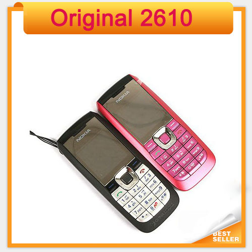 Nokia 2610 mobile phone 2pcs/lot(China (Mainland))