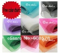 6.3'' wide  polyester horsehair/ crin trim for use in making hat & fascinator  #30 Multiple Colors