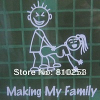 Free Shipping,Fashion Transfer Family Decals Stickers