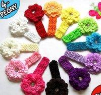 13pcs/lot  Peony Baby Flower Headband new headband