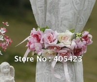 Free shipping!Small rose,Garland,Curtain bouquet,Wedding decoration,Home decoration,2pc/MOQ,3 color