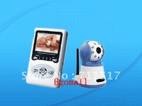 2.4GHz Wireless Two-way Speak Baby Monitors Surveillance>IR Night Vision Camera>2.4 inch LCD Screen
