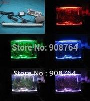 L002#  fish tanks LED light  plant grow lamp  daylight  44 keys remote control pad   20cm  bulbs  Aquariums lamp  Free shipping
