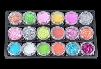 New Nail Art Kit Set Acrylic Powder Liquid Primer UV Dust Stickers Brush 31