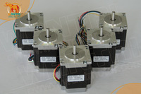 Nice Motor! Wantai 5PCS Nema23 Stepper Motor 57BYGH420 185oz-in 56mm 2A CE ROHS ISO CNC Router Plastic Engraver Kit Metal