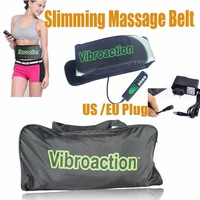 Free Shipping Drop Shipping Vibro Action Vibroaction Belt Shape Massager Belt Slimming Massage Belt