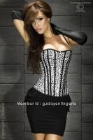 free shipping leopard  elegant Sexy  underwear  corset Wholesale and retail DH7047