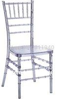 4 pieces/lot PC plastic Chiavari bamboo chairs