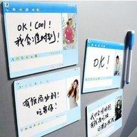 Free shipping 8pcs/lot +wholesale+ Dialog box message magnet creative fridge magnet MSN Message Board