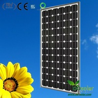 DHL Free Shipping--Cheap price of solar panels 195W monocrystalline silicon for sale in  stock