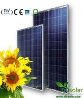 DHL Free Shiping--China manufacturer supply POLY 235Wp solar module in  stock
