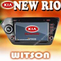 WITSON kia rio KIA new RIO,KIA K2 2012 K2 2011-2012 car DVD GPS+Russia Menu+Free Shipping+Free Map
