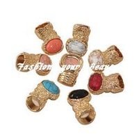 Free Shipping~~ Original Arty Cluster Stone Gold Ring A Must Have  , R1-098