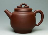 A-Class YIXING purple clay pure handwork teapot,275ML., free shipping,LM1233