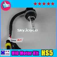 Professional!HS5 motor kit 12V 35W 6000K 8000K motorcycle light system 1 set =1 bulb+ 1 ballast