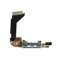 wholesale Free shipping ribbons connectors dock charger FLEX cable for iPhone 4