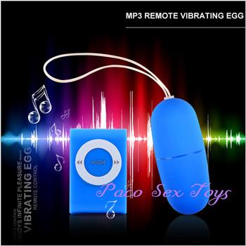 20 Modes MP3 Remote Vibrating Egg, Remote Control Bullet Vibrator, Sex Vibrator, ...