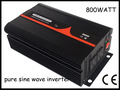 800w DC12V AC230V pure sine wave solar power inverter,CE approved,1 year warranty.