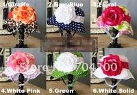 3 Pieces/lot-Baby flowers hat/Baby beanie/Kids sun hat/girl's sunhat/baby cap/Children's sunbonnet