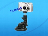 Free shipping,hot selling Car Window Suction Cup Mount Tripod Holder for Camera,Car camera mount,holder for GPS,360swivel head