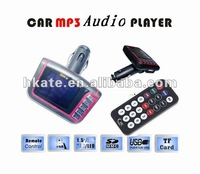 2012 vehicle/auto/ car mp3 player with wireless fm transmitter modulator 1.5 screen support remote sd/usb 1-16g m338n3