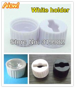 50pcs/lot, LED lens bracket holder for 20mm lens in common use / white holder, 1W 3W LED DIY lens holder,  free shipping