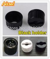 50pcs/lot, LED lens holder for 20mm lenses in common use / black holder, high power LED lense bracket holder,  free shipping