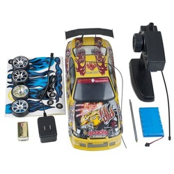 NEW arrival yellow RC CAR DRIFT 1/14 Remote 4WD ELECTRIC free shipping(China (Mainland))