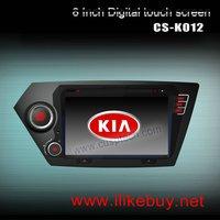 CS-K012  SPECIAL CAR DVD PLAYER WITH GPS FOR KIA K2 2011-2012 / RIO 2012