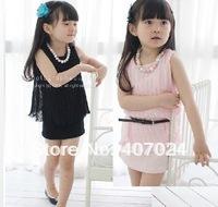 Wholesale girls dresses  Bouffant girls Vest dress  kids baby girl fashion dress children  clothing 630137