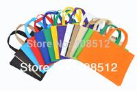 500pcs promotion custom logo non woven shopping bag printing