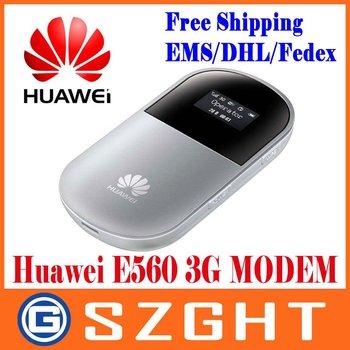 Free shipping UNLOCKED HUAWEI E560 3G 7.2M OLED WIFI GSM GPRS EDGE HSUPA HSDPA WCDMA MOBILE MODEM