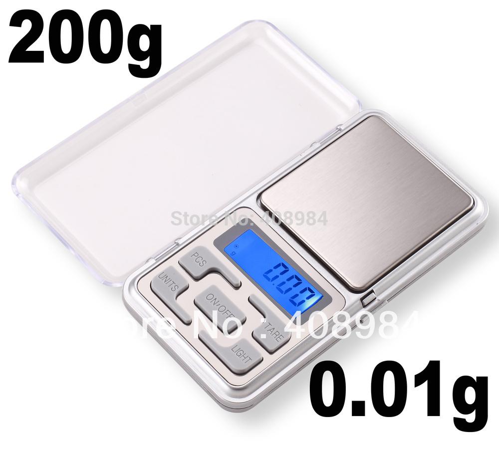 200g x 0 01g Mini Digital Jewelry Pocket Gram Scale