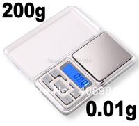 200g x 0.01g Mini Digital Jewelry Pocket Gram Scale