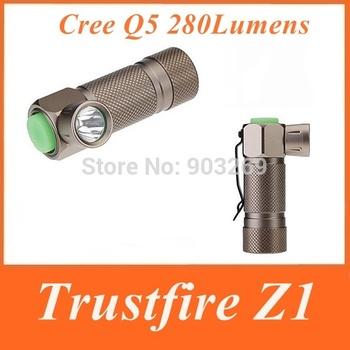 TrustFire Z1 Flashlight 280 LM 3-Mode Cree Q5 LED Aluminium alloy Torch Waterproof Mini Camping Hiking Flashlight