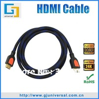 Free Shipping 2M 6FT 1.3 Version HDMI Cable, 1080P HDMI Male to Male Cable, HDMI Cable for LCD HDTV DVD PS3 Projector