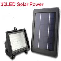 30LED Solar flood light 100 % solar power outdoor led light solar garden light outdoor led lamp CE approved 3 color option