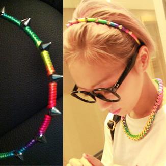 Cheap Promotion!!! 2014 fashion girl Lovely Hairband Headband Punk Party! Free Shipping M011
