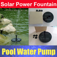 Floating Solar Power Fountain Water Pump Garden Plants Watering Kit GY Brand