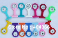 200pcs/lot Unisex Fashion Nurse Watch New Arrival Pocket Watch Colourful Professional Useful Medical Watches