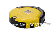 Free Shipping/2012 Brand New Arriving Wet&Dry Robot Vacuum Cleaner+Lowest Nosie+ Longest Working Time+UV lights