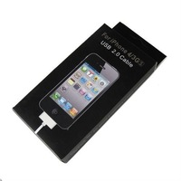 USB 2.0 sync data charger cable for iphone 3g 3gs 4g 4gs with retail box hot selling