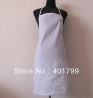 free shipping cheape polyester 100% cotton promotion kitchen  Apron 5 pcs/lot