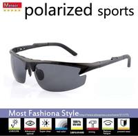 aviation aluminum-magnesium alloy sunglasses men polarized sports,UV400 fashion semi-rimless polarized sunglasses men driving