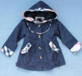 Free shipping new arrival children&#39;s spring/autum Hoodies,girl&#39;s Long Sleeve Outerwear/trench coat/Jacket,Plaid,sweet,cute,