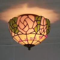 Free shipping wholesale all kinds of Tiffany lamps garden roses fashion ceiling lamps bedroom balcony bar lighting