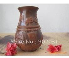 Free Shipping 17hand embossed antique Zisha tea
